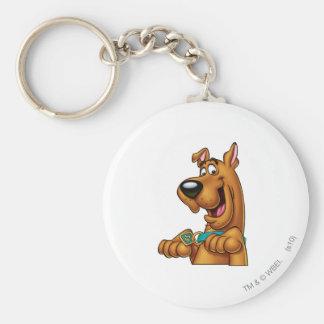 Scooby Doo Spritzpistolen-Pose 23 Standard Runder Schlüsselanhänger