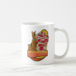 "Scooby-Doo | Stapel von Pizza ""Munchies"" Grafik Kaffeetasse"