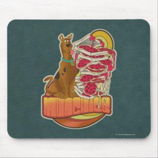 "Scooby-Doo | Stapel von Pizza ""Munchies"" Grafik Mousepad"