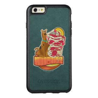 "Scooby-Doo | Stapel von Pizza ""Munchies"" Grafik OtterBox iPhone 6/6s Plus Hülle"
