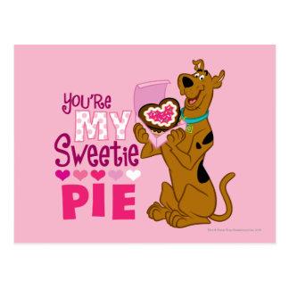 Scooby Doo - Sweetie-Torte Postkarte