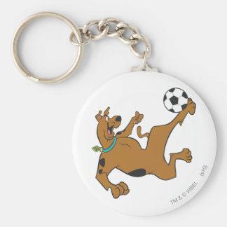Scooby Doo trägt SDX Pose 10 zur Schau Standard Runder Schlüsselanhänger