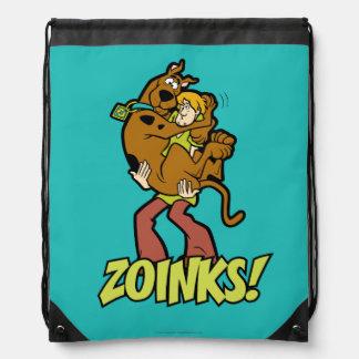 Scooby-Doo und Shaggy Zoinks! Turnbeutel