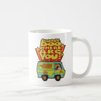 "Scooby-Doo | ""wo sind Sie?"" Retro Cartoon Van Kaffeetasse"