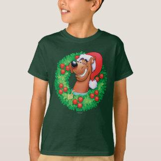 Scooby im Kranz T-Shirt