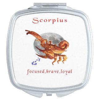 scorpius Einzelteile Taschenspiegel