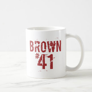 Scott BROWN #41 Kaffeetasse