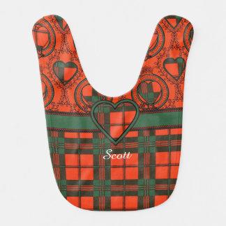 Scott-Clan karierter schottischer Tartan Lätzchen