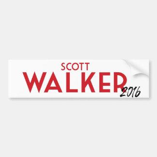 Scott-Wanderer 2016 Autoaufkleber
