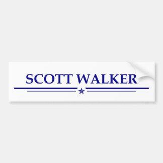 Scott-Wanderer Autoaufkleber
