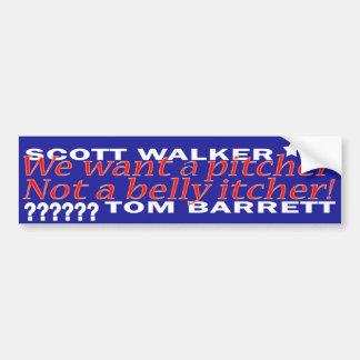 Scott-Wanderer-Autoaufkleber Autoaufkleber
