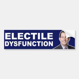 Scott-Wanderer: Electile Funktionsstörung Autoaufkleber