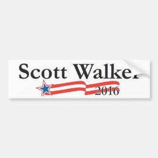 Scott-Wanderer für Präsidenten 2016 Auto Sticker