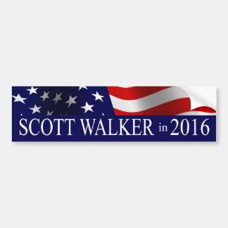 Scott-Wanderer im Jahre 2016 Autoaufkleber
