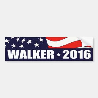 Scott-Wanderer-Präsident 2016 Autoaufkleber