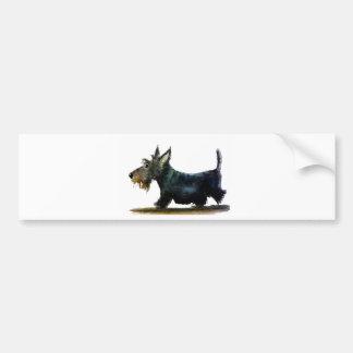Scottie-Hund Autoaufkleber