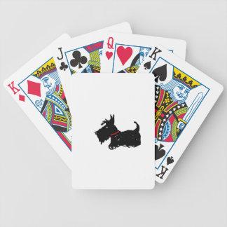 Scottie-Hund Bicycle Spielkarten
