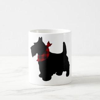 Scottie-Hundeverwandelnde Tasse