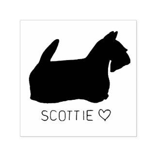 Scottie-Liebe Permastempel
