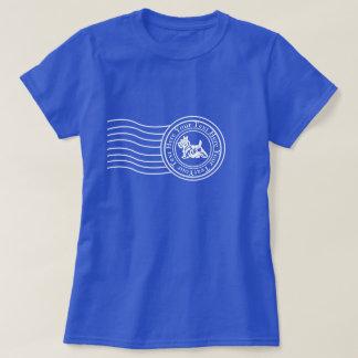 Scottie-Poststempel Ihr Text T-Shirt
