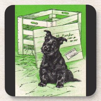 Scottiehund durch spezielle Lieferung Untersetzer