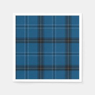 Scottish Ramsay BlauTartan Papierserviette
