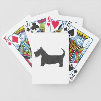 Scottish Terrier Bicycle Spielkarten