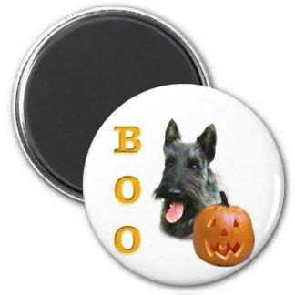 Scottish-Terrier (brindle) Boo Runder Magnet 5,7 Cm