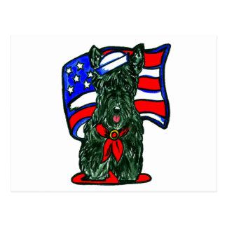Scottish Terrier Postkarte