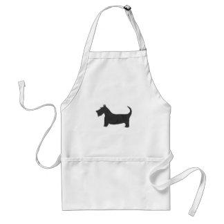 Scottish Terrier Schürze