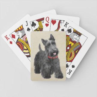Scottish Terrier Spielkarten
