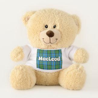 Scottish umarmt Clan MacLeod von HarrisTartan Teddybär
