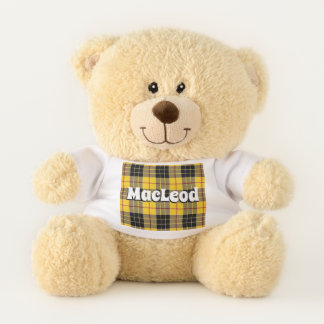 Scottish umarmt Clan MacLeod von LewisTartan Teddybär