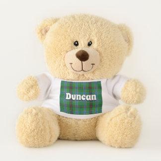 Scottish umarmt karierten Clan-DuncanTartan Teddybär