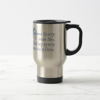 Scottish-Zitat, Sir William Wallace, Distel-Tasse Reisebecher