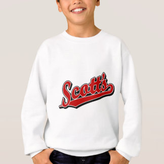Scotts im Rot Sweatshirt