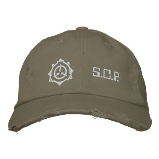 SCP Foundation cap: custom-b[SCP Foundation] Bestickte Baseballkappe