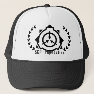 SCP Foundation cap: symple-B[SCP Foundation] Truckerkappe