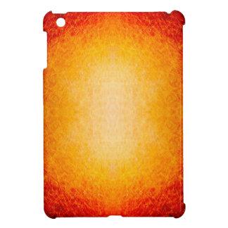 Scratched glühende Feuerkugel iPad Mini Hülle