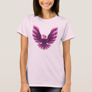Screamin Eagle Rosa 2 beunruhigt T-Shirt