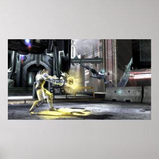 Screenshot: Cyborg gegen Nightwing 2 Poster