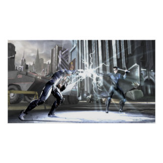 Screenshot: Cyborg gegen Nightwing 4 Poster