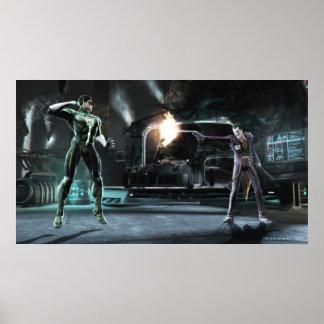 Screenshot: Grüne Laterne gegen Joker Poster