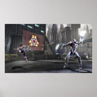 Screenshot: Wunder-Frau gegen Cyborg 2 Poster