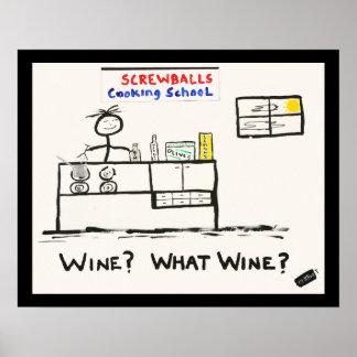 Screwballs™ Plakat-Kunst Poster