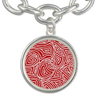 Scribbleprint - Rot Armbänder