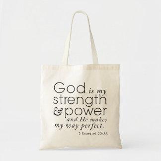 """Scripture-Tasche """"Gott ist meine Stärke"""" 2 Tragetasche"""