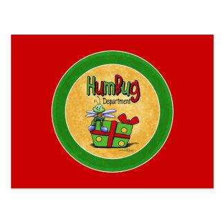 Scrooge Feiertag - Bah Humbugkarte Postkarte
