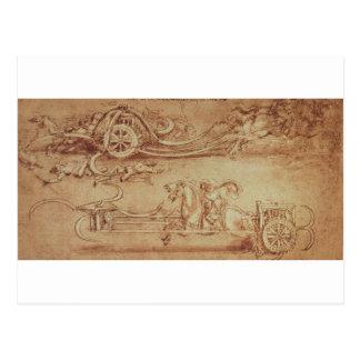 Scythed Chariot Postkarte