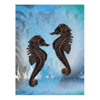 Sea Horses Postkarte
